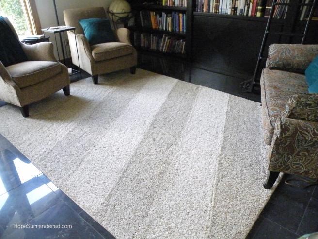 Carpet stripes.HS